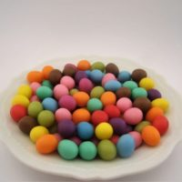 Miniature Colored Easter Eggs