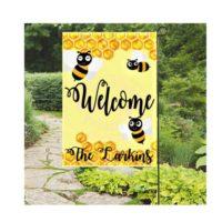 Bumble Bee Garden Flag