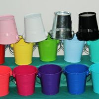 Medium Buckets with single handle