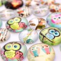 Glass Owl Magnets