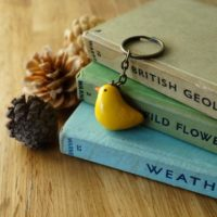 By the Shed Chick Hen Duck Bird Keyring