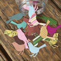 Large Paper Bird DieCuts