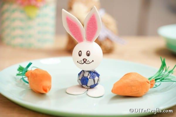 Cute Lollipop Bunny Easter Kids' Craft