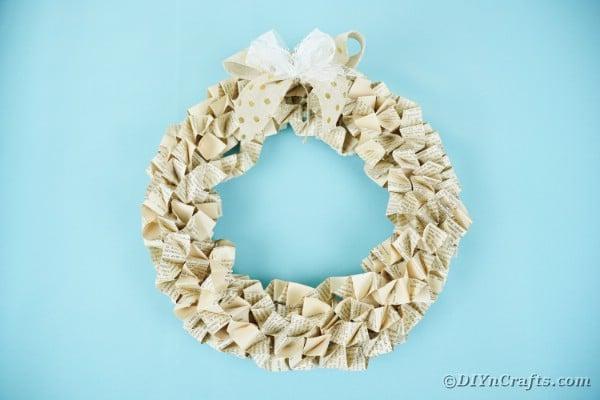 Origami German Star Christmas Wreath | Rachel Kiernan | Paper ... | 400x600