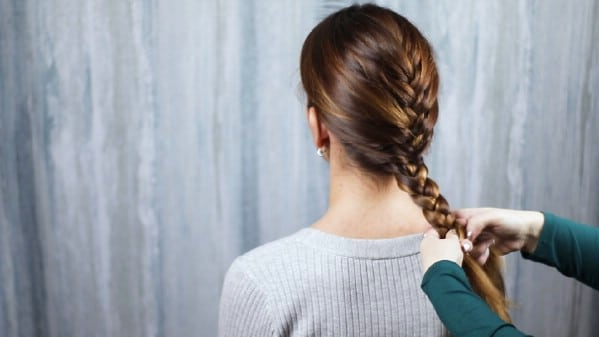 Creating a plain braid