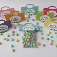 Easter Treat Bags Toppers