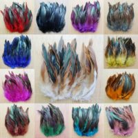 Rooster Feathers 10-20cm Many Colours Available