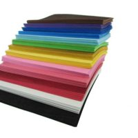 "12"" x 18"" x 2mm Foam Sheets - Various Colors (10) - for arts and crafts"