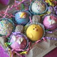Easter Egg Carton- Gourmet Easter Cake Balls
