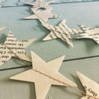 NORDIC Garland / Holiday Decor bookpage SUSTAINABLE