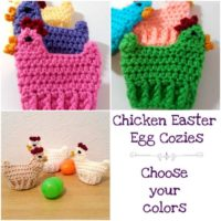 Crochet Chicken Easter Egg Cozies