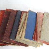 Assorted Vintage Salvaged Old Book Covers
