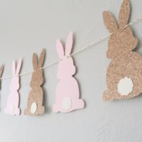 Bunny Banner - Some Bunny is One Banner - Easter Banner