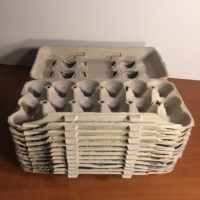 Egg Cartons Cardboard, 12 Count, Pulp Paper, Recycled