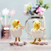 Hatching Easter Chick Decoration