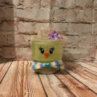 Easter Chick Lighted Mason Jar
