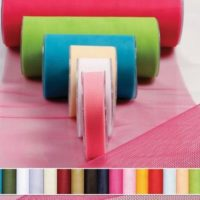 Tulle One Color Ribbon