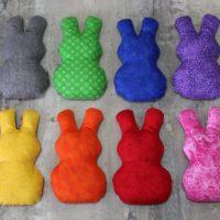 Rainbow Bunny Shape Bean Bags
