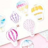 45 Pieces of Hot Air Balloon Stickers