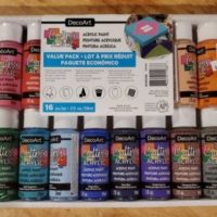Americana DecoArt Acrylic Paint Value Pack 16/Pkg Assorted Colors