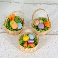 Mini dollhouse Easter Basket, Gnome making supplies