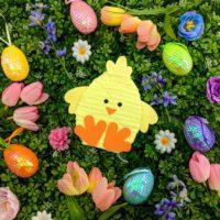 Easter Chick Mini Piñata Gift Box