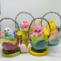 Re-purposed Egg Carton Baskets - Retro Inspired Easter