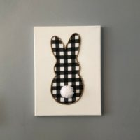 Farmhouse Decor Bunny Wall Art