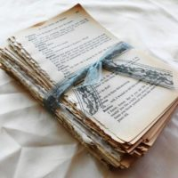 Vintage Book Page Bundle