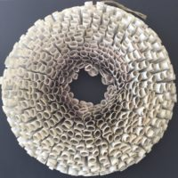 Rolled Paper Book Page Wreath