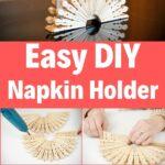 Napkin holder collage