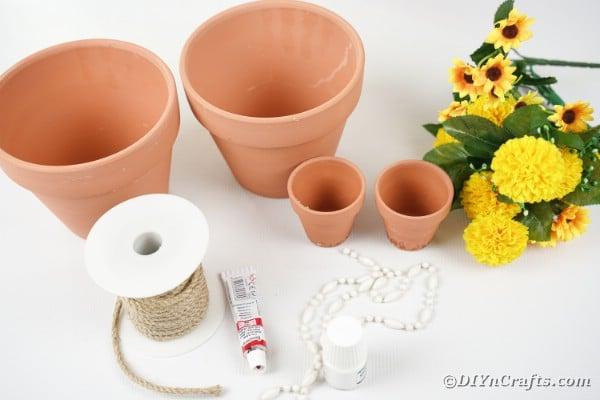 Flower Pot Girl Supplies