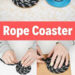 Rope coaster collage