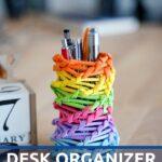 Organizer on desk