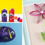 Toilet Paper Roll Craft Collage