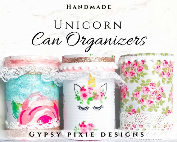 Unicorn Can Organizer