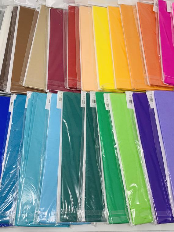 20x26 Tissue Paper, Choose Your Color