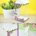 Easy birdcage collage