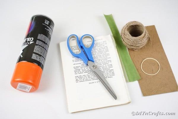 Supplies for paper pumpkin
