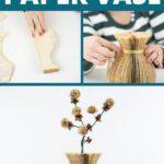 Paper vase collage