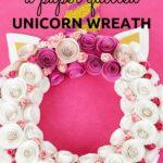 Unicorn Wreath collage