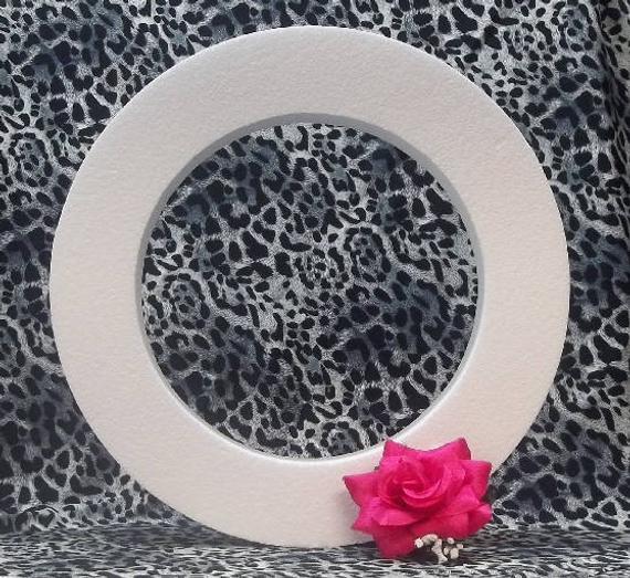 "Styrofoam EPS Polystyrene Wreath Ring Sizes 14"", 16"", or 18"" X 2"""