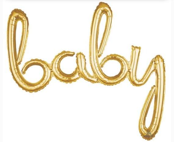 Oh Baby Balloon