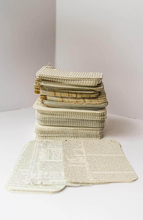 Recycled Book Paper