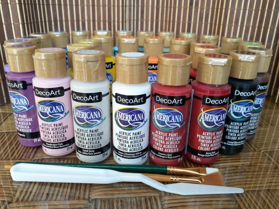 Acrylic Paint, Americana, Matte, 2 oz, Multiple Purpose Paint.