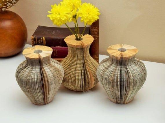 Paper Vase Book Art