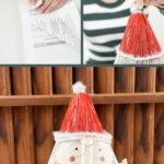Old book Santa Claus Collage
