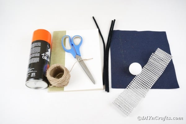 Supplies for Paper Witch