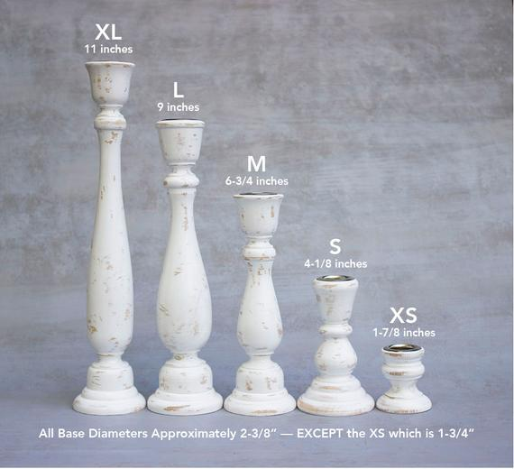 Made to Order Wooden Candlesticks