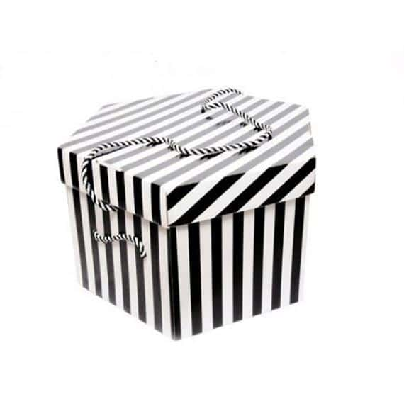 Candy Stripe Hat Box